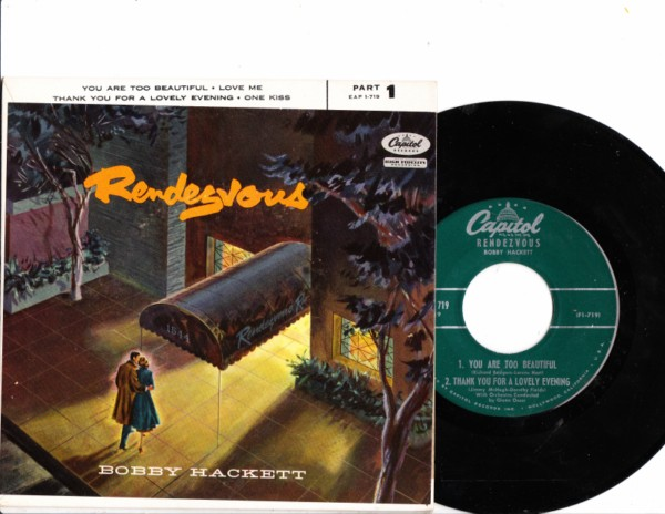 Bobby Hackett - Rendezvous - Capitol EP