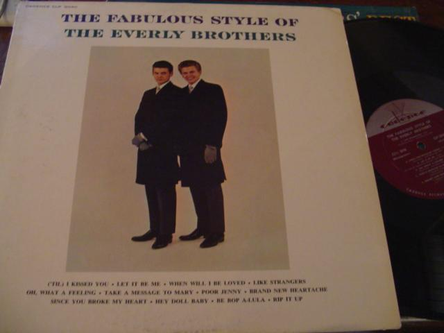 EVERLY BROTHERS - FABULOUS STYLE - CADENCE { AF 303