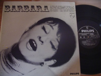 BARBARA - SELF TITLE - PHILIPS FRANCE { F 238