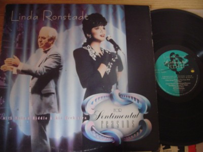 LINDA RONSTADT - FOR SENTIMENTAL REASONS { F 233