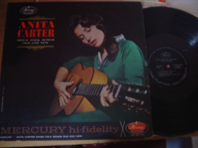 ANITA CARTER - SINGS FOLK OLD & NEW - MERCURY { F 226