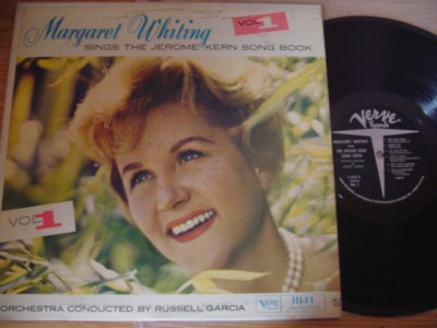 MARGARET WHITING - SINGS JEROME KERN - VERVE { F 239