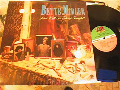 BETTE MIDLER - MUD WILL BE FLUNG - ATLANTIC 2LP { F 191