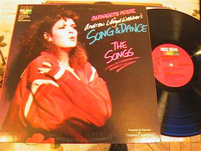 SONG & DANCE - BERNADETTE PETERS - RCA { FV 192