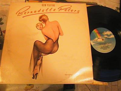 BERNADETTE PETERS - NOW PLAYING - MCA { FV 193