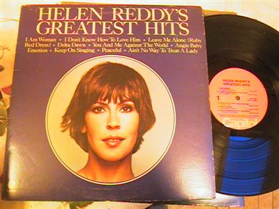 HELEN REDDY - GREATEST HITS - CAPITOL { FV 197