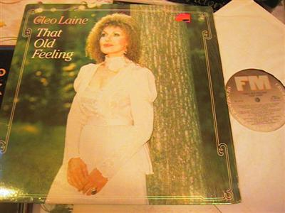 CLEO LAINE - THAT OLD FEELING - CBS { FV 208