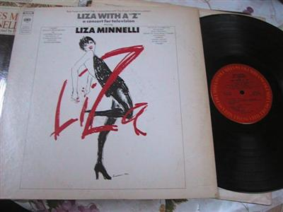 LIZA MINNELLI - LIZA !WITH A Z - COLUMBIA { FV 167
