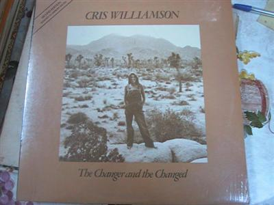 CRIS WILLIAMSON - CHARGER & CHARGED - SEALED OLIVIA { FV 174