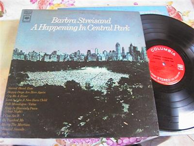 BARBARA STREISAND - CENTRAL PARK - COLUMBIA { F 158