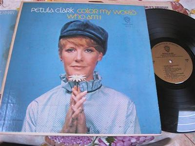 PETULA CLARK - COLOR MY WORLD - WARNER { FV 157