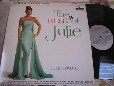 JULIE LONDON - THE BEST OF - LIBERTY { FV 147