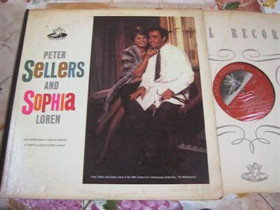 THE MILLIONAIREES - SOPHIA LOREN PETER SELLERS [ FV 145