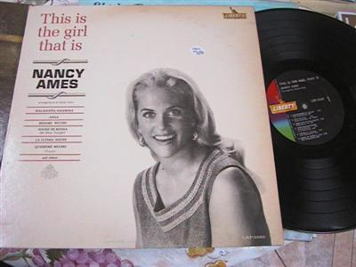 NANCY AMES - THIS IS THE GIRL - LIBERTY { FV 135