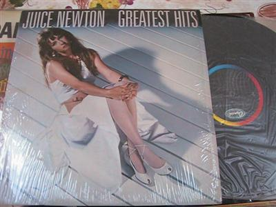 JUICE NEWTON - GREATEST HITS - CAPITOL { F 126
