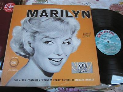 MARILYN MONROE - MARILYN - 20th FOX { F 122