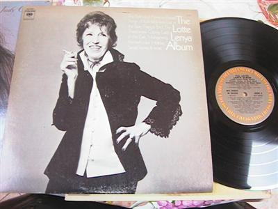 LOTTE LENYA - THE ALBUM - COLUMBIA 2LP { F 116