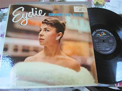 EYDIE GORME - SWINGS THE BLUES - ABC { F 115