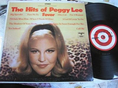 PEGGY LEE - THE HITS OF - CAPITOL { FV 133