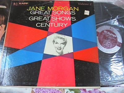 JANE MORGAN - SONGS FROM SHOWS - KAPP { F 107