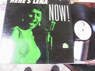 LENA HORNE - HERES LENA NOW - 20 th FOX { F 103