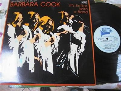 BARBARA COOK - ITS BETTER WITH BAND - MMG { F 102