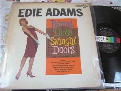 EDIE ADAMS - BEHIND SWINGIN DOORS - DECCA [ F 127