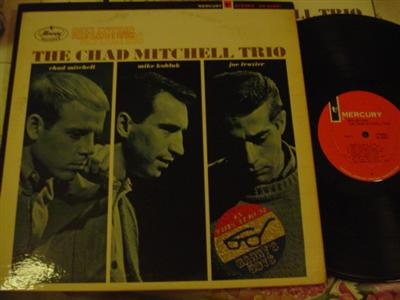 THE MITCHELL CHAD TRIO - REFLECTING - MERCURY { Z 176