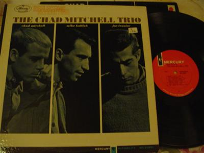 THE MITCHELL CHAD TRIO - REFLECTING - MERCURY { Z 176a