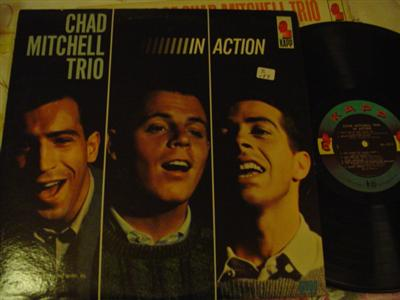 THE MITCHELL CHAD TRIO - IN ACTION - KAPP { Z 177