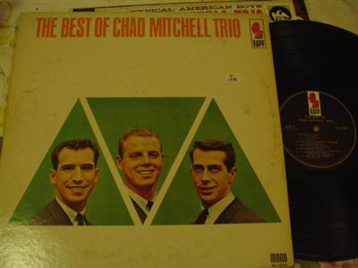 THE MITCHELL CHAD TRIO - BEST OF - KAPP { Z 178