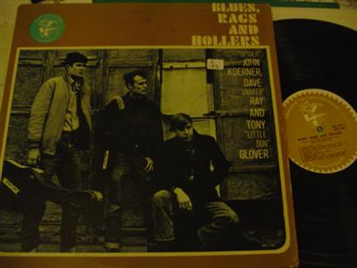 KOERNER, GLOVER & RAY - 1 BLUES RAGS HOLLERS { Z 183