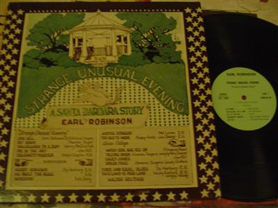 EARL ROBINSON - STRANGE UNUSUAL EVENING - SIGNED { Z 82