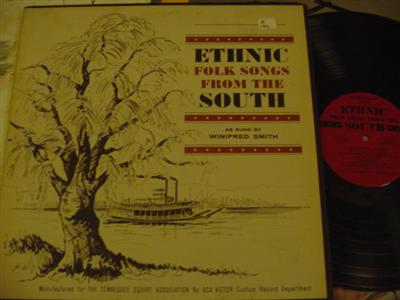 WINIFRED SMITH - FOLK SONGS FROM SOUTH { Z 194