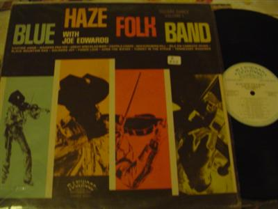 BLUE HAZE FOLK BAND - SELF TITLE - RAINWOOD { Z 202