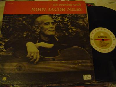 JOHN JACOB NILES - EVENING WITH - TRADITION { Z 207