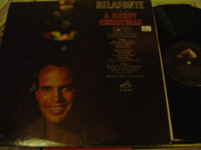 HARRY BELAFONTE - MERRY CHRISTMAS - RCA [ Z 220