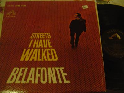HARRY BELAFONTE - STREETS I HAVE WALKED - RCA [ Z 219