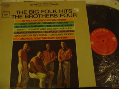 THE BROTHERS FOUR - FOLK HITS - COLUMBIA { Z 241