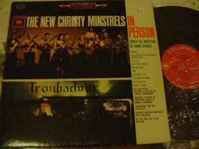NEW CHRISTY MINSTRELS - IN PERSON - COLUMBIA { Z 243
