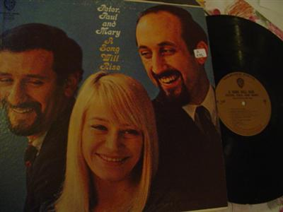 PETER PAUL & MARY - A SONG WILL RISE - WARNER { Z 255