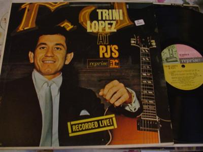 TRINI LOPEZ - AT PJ's - REPRISE { Z 260