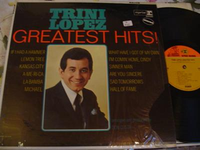TRINI LOPEZ - GREATEST HITS - REPRISE { Z 262