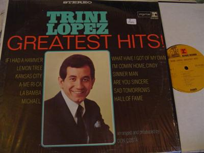 TRINI LOPEZ - GREATEST HITS - REPRISE { Z 264