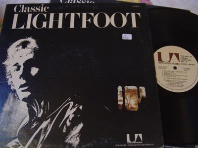 GORDON LIGHTFOOT - CLASSIC LIGHTFOOT - UA { Z 267