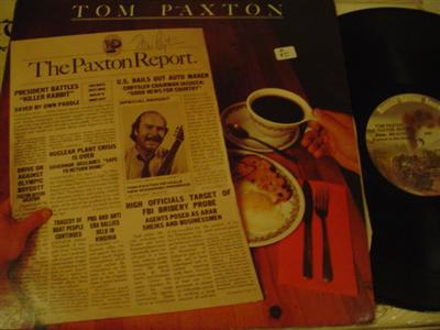 TOM PAXTON - PAXTON REPORT - SIGNED { Z 95