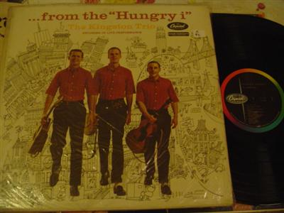 KINGSTON TRIO - THE HUNGRY I - CAPITOL { Z 96