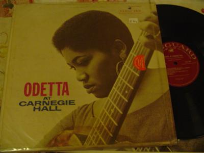 ODETTA - AT CARNEGIE HALL - VANGUARD { Z 74