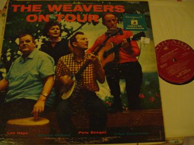 THE WEAVERS - ON TOUR - VANGUARD { Z 111