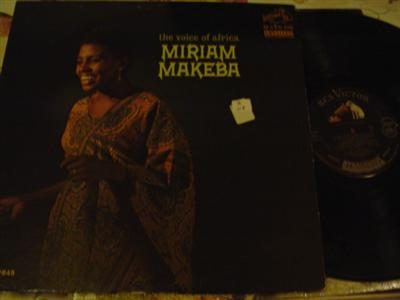 MIRIAM MAKEBA - VOICE OF AFRICA - RCA { Z 117